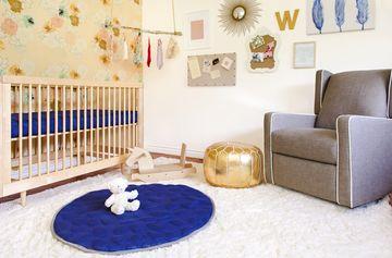 cacee cobb and donald faison - girls nursery