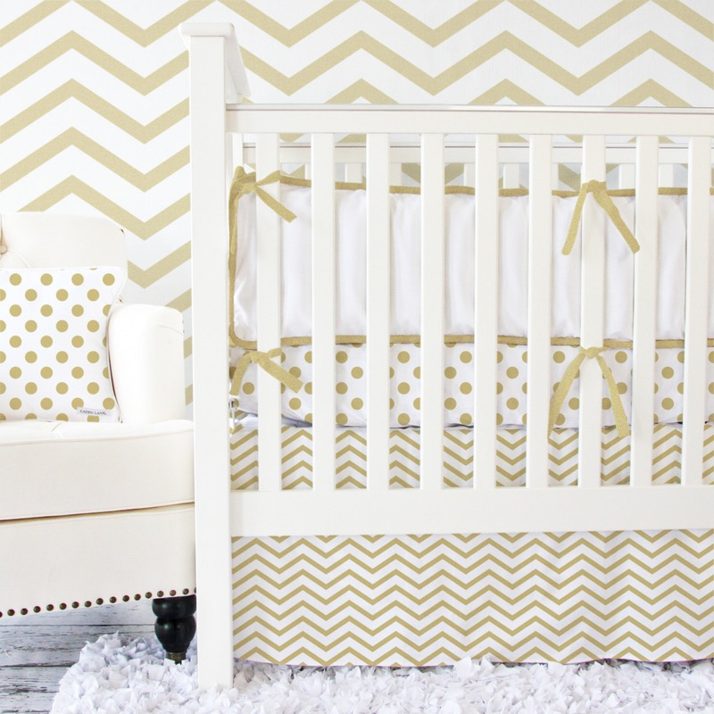 metallic nursery